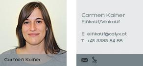 Carmen Kainer kontaktieren!