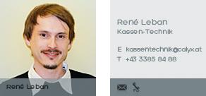 René Leban kontaktieren!